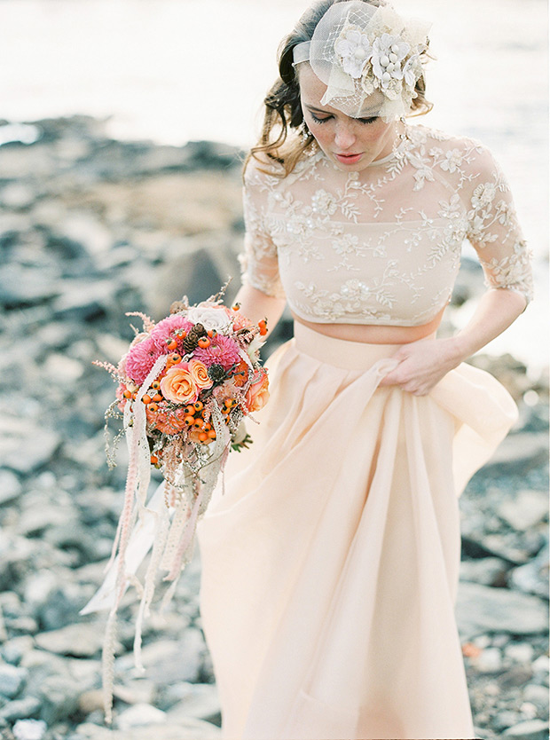 Photo by  2 Brides Photography  via  One Fab Day