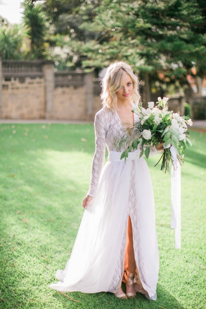 37 More Stunning Long Sleeve Wedding Dresses For Every Kind Of Fall