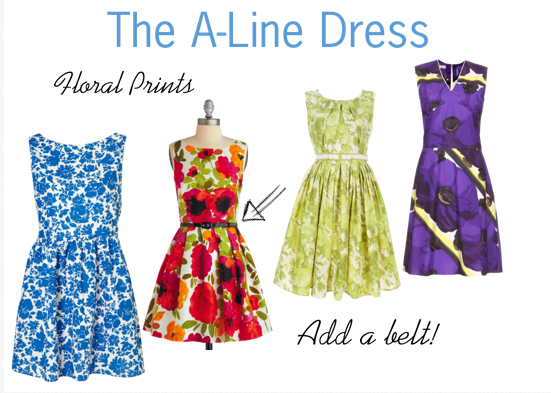 A-Line Dresses Are in Fashion