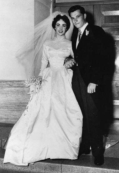 Throwback Thursday Best Dressed Celebrity Brides Through The Years