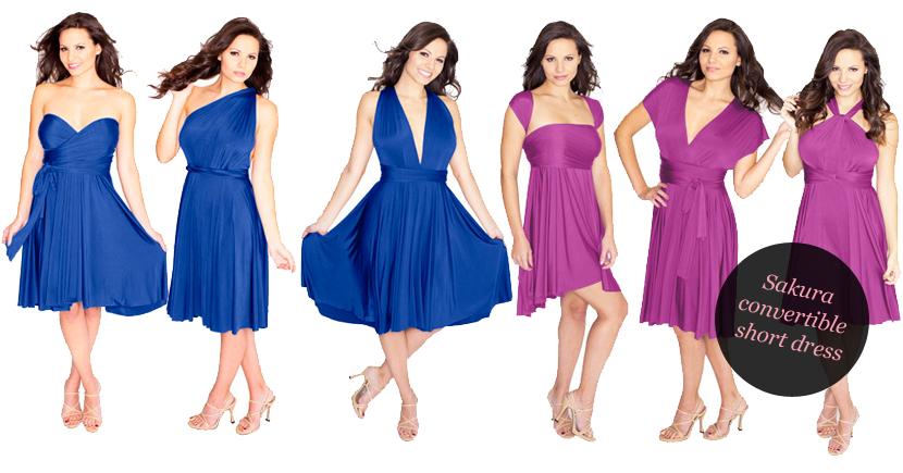 Sakura Convertible Bridesmaid Dress