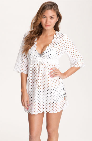 064e3ecd97 Tory Burch Eyelet Cover-Up Dress nordstrom sexy swim cover up beach cover up  white dress white swim cover up swimwear honeymoon clothing wedding party  blog