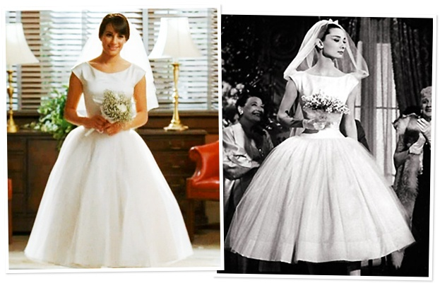 Our Five Favorite Tea-Length Wedding Dresses Inspired By Glee\'s Very ...