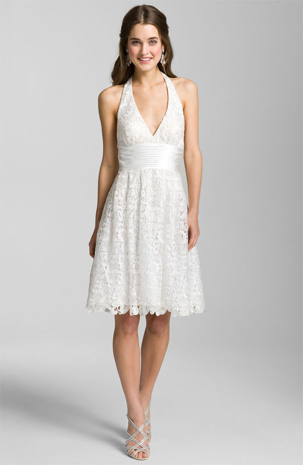 The Little White Dress: Short and Sweet Dresses For The Bride ...