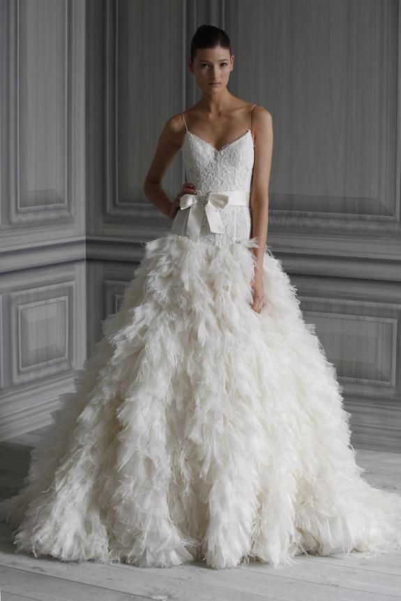 86de1b89391f wedding-dress-monique-lhuillier-bridal-gowns-spring-2012 textured wedding  dress beautiful wedding dress ball gown wedding trends 2012 wedding party  blog