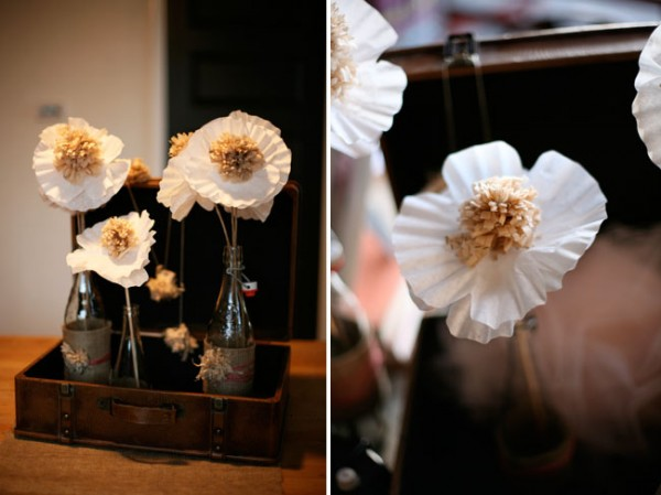 Tried it tuesday paper flowers diy wedpics blog diy flowers 1diy paper flowers wedding centerpieces wedding flowers wedding bouquet mightylinksfo