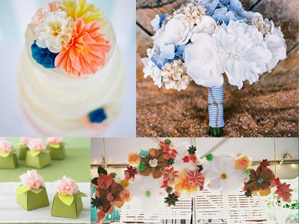 Tried it tuesday paper flowers diy wedpics blog diy paper flowers wedding centerpieces wedding flowers wedding bouquet wedding diy flowers wedding crafts wedding details fun wedding details junglespirit Image collections