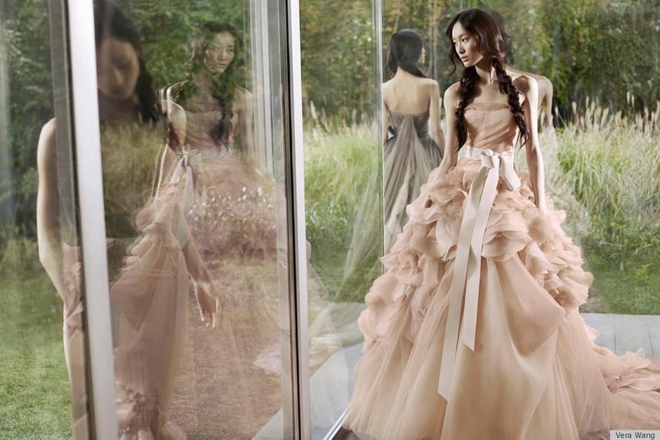 Vera Wang Blush Wedding Dresses
