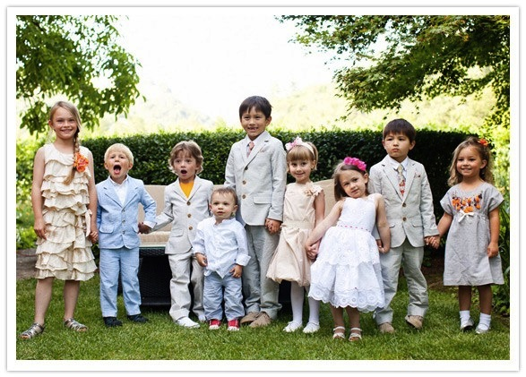children-at-wedding flower girl and ring bearer at wedding cute overload children at wedding wedding party blog