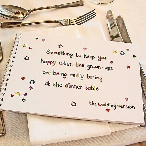 the-wedding-of-my-dreams-kids-activity-book DIY activity book for kids kids activities at wedding wedding party blog