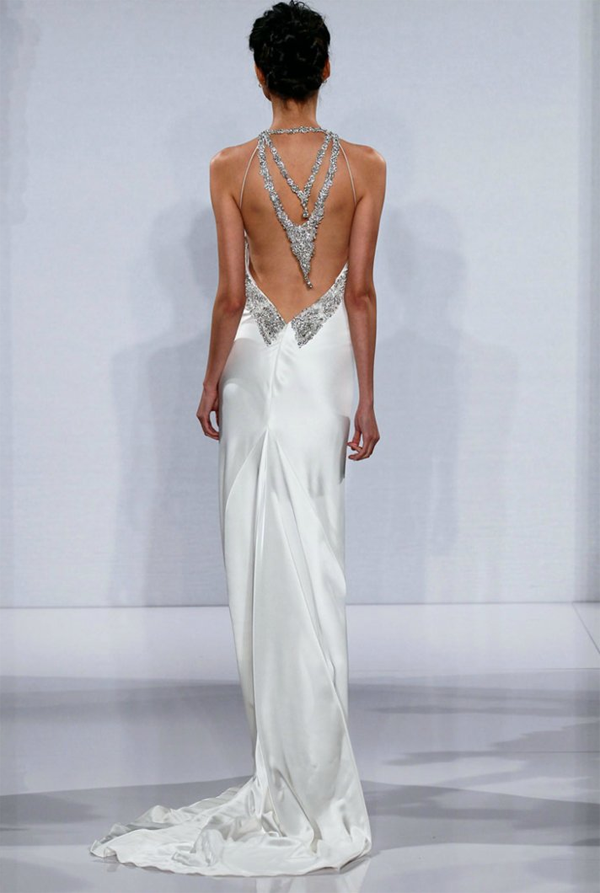 Baby Got Back Open Wedding Dresses That Make Our Jaws Drop