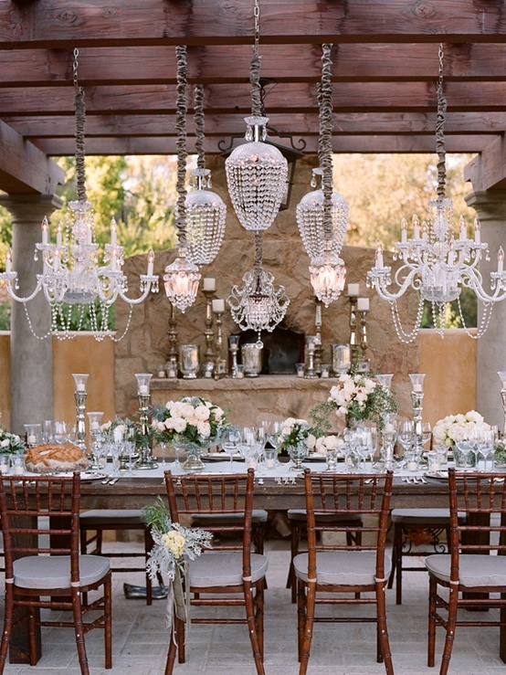 Hanging Wedding Decor Suspended Chandelier Chandeliers