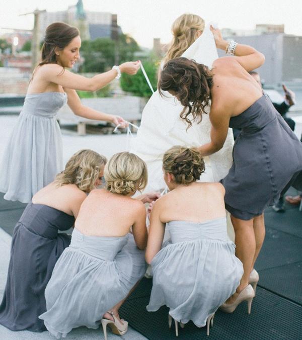 gray bridesmaid dresses, mismatched bridesmaid dresses, bridesmaids, bridesmaids advice, bridesmaids style, bridesmaids hairstyle, bridesmaids beauty, bridesmaids planning, how to choose your bridal party, bridal party advice, bridal party planning, bridal party checklist, bridesmaids checklist, bridesmaid checklist, maid of honor checklist, how to be a good bridesmaid, bridesmaid tips and tricks, wedding party app, rachel wilkerson, wedding app, wedding party blog, advice on choosing bridal party, who to choose for your bridal party, how to choose your bridesmaids, bridesmaid etiquette