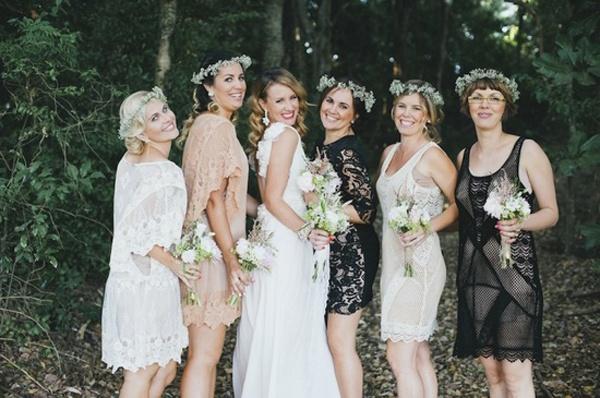 Casual Black Bridesmaid Dress