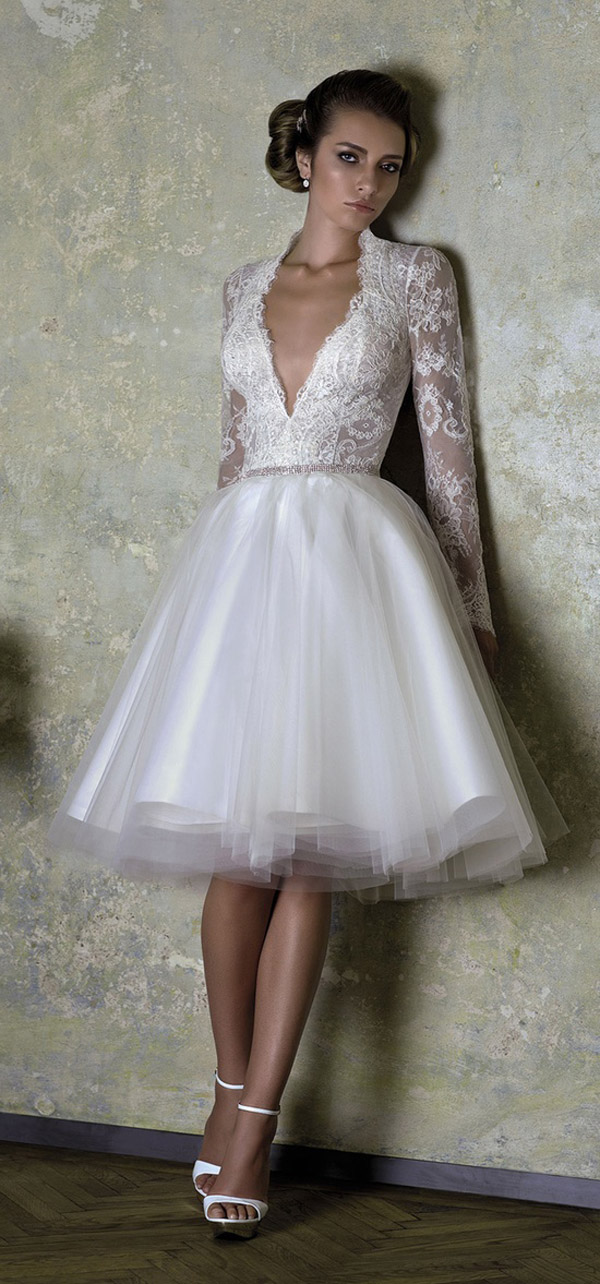20 unique wedding dresses for the bride who dares to be different ...