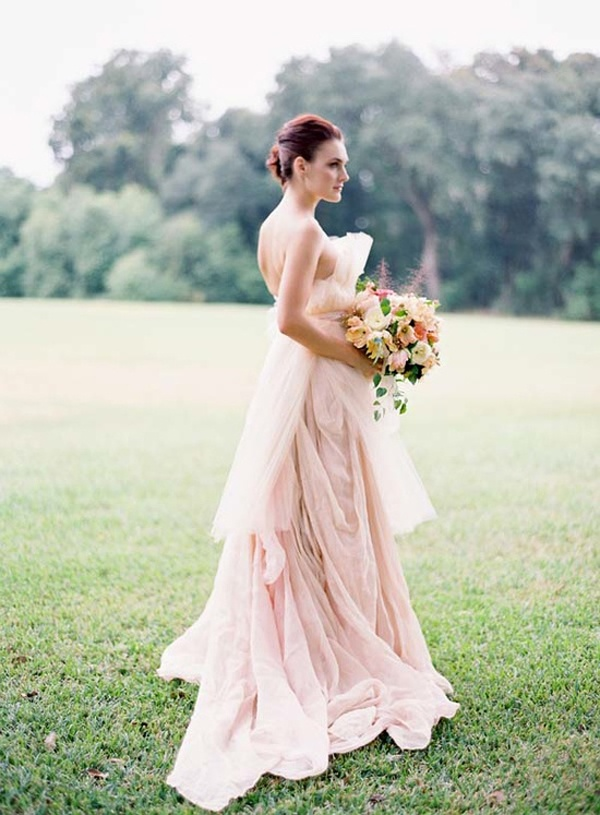 Wedding Dresses Untraditional Non Traditional Colorful Dress