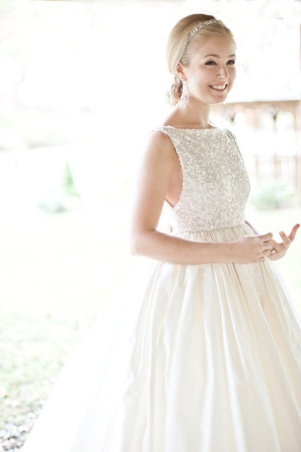 Hot Wedding Trends: Wedding Dresses with High Necklines — Wedpics Blog