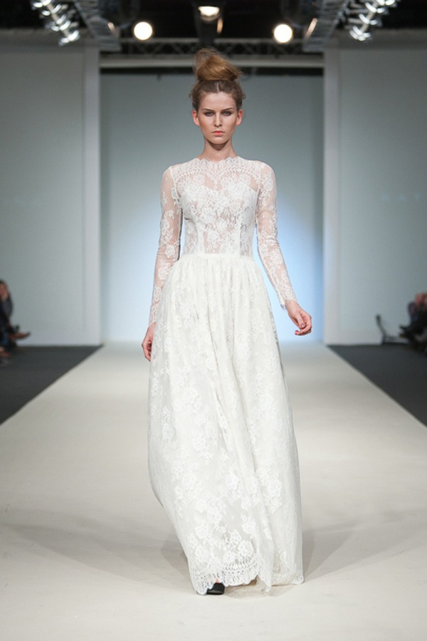 Hot Wedding Trends: Wedding Dresses with High Necklines — Wedpics Blog