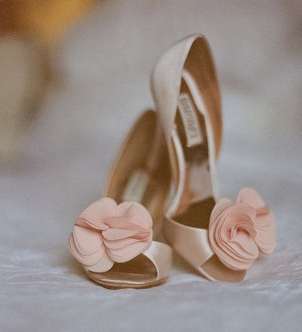 Bridal Style: Neutral Colored High Heels are a Perfect Fit for your ...