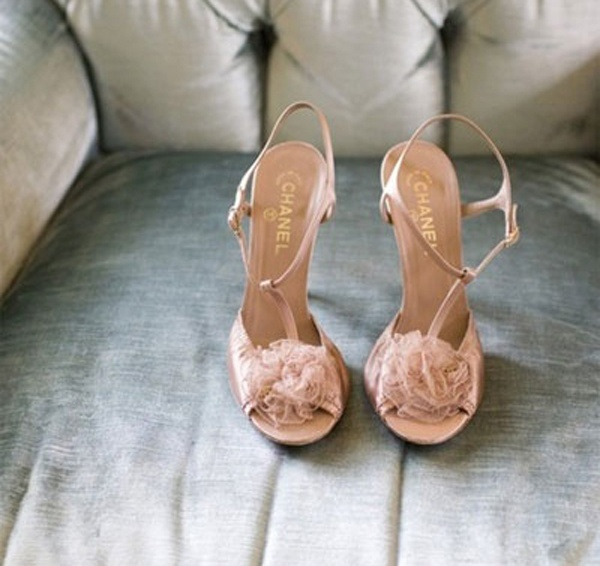 5c6d7466f760 Bridal Style  Neutral Colored High Heels are a Perfect Fit for your ...