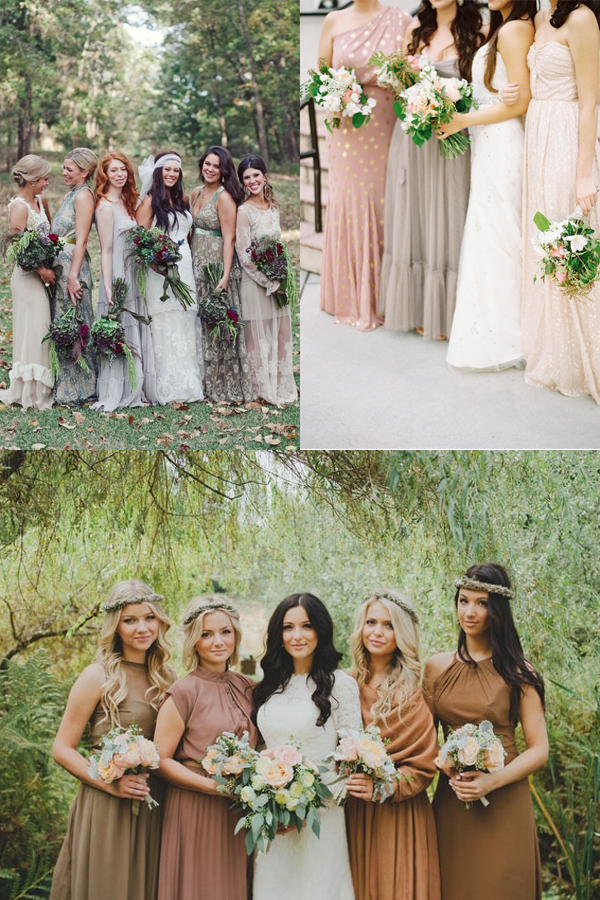 142ccad37b8 You ve seen the mis-matched bridesmaid dress trend
