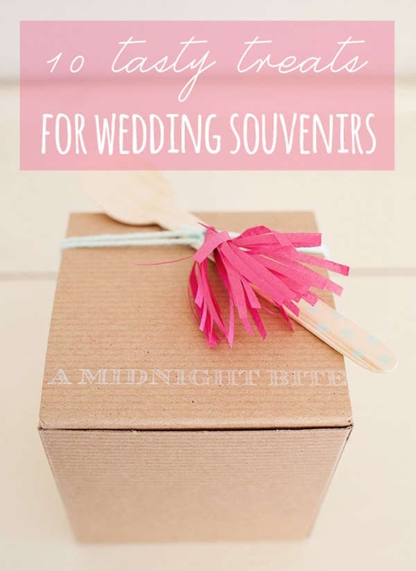 10 Sweet And Savory Souvenirs For Your Wedding Guests Wedpics Blog
