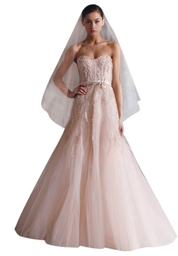 Blush pink gowns: The hottest dress trend for celebs and brides ...
