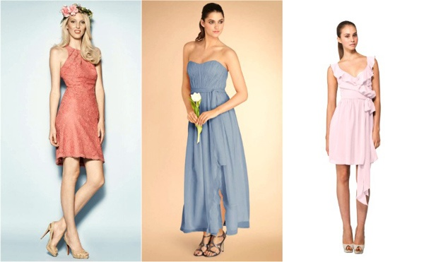 Bridesmaid Dresses for Summer Weddings of all styles [Guest post ...