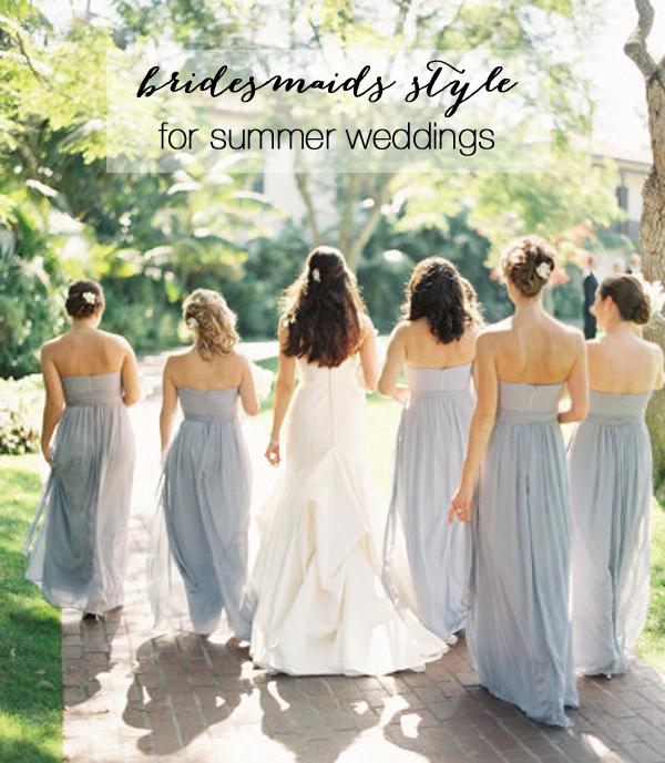 Bridesmaid Dresses Summer Wedding