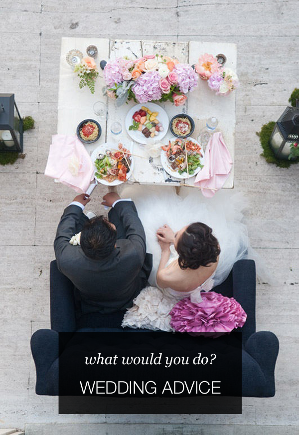Wedding Advice Can I Serve Hors Doeuvres Instead Of A Traditional