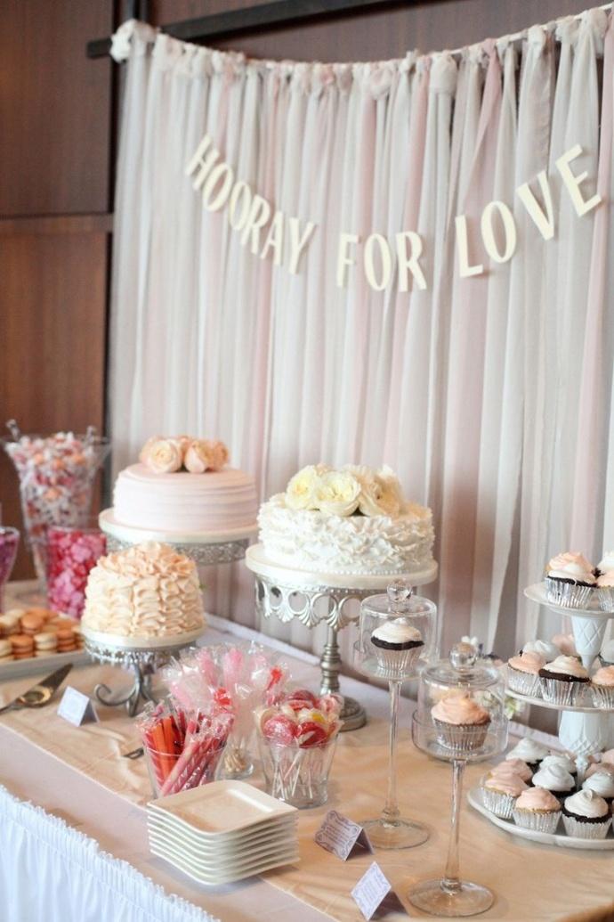 Awe Inspiring 6 Steps To Create A Stunning Diy Wedding Dessert Table Home Interior And Landscaping Ponolsignezvosmurscom