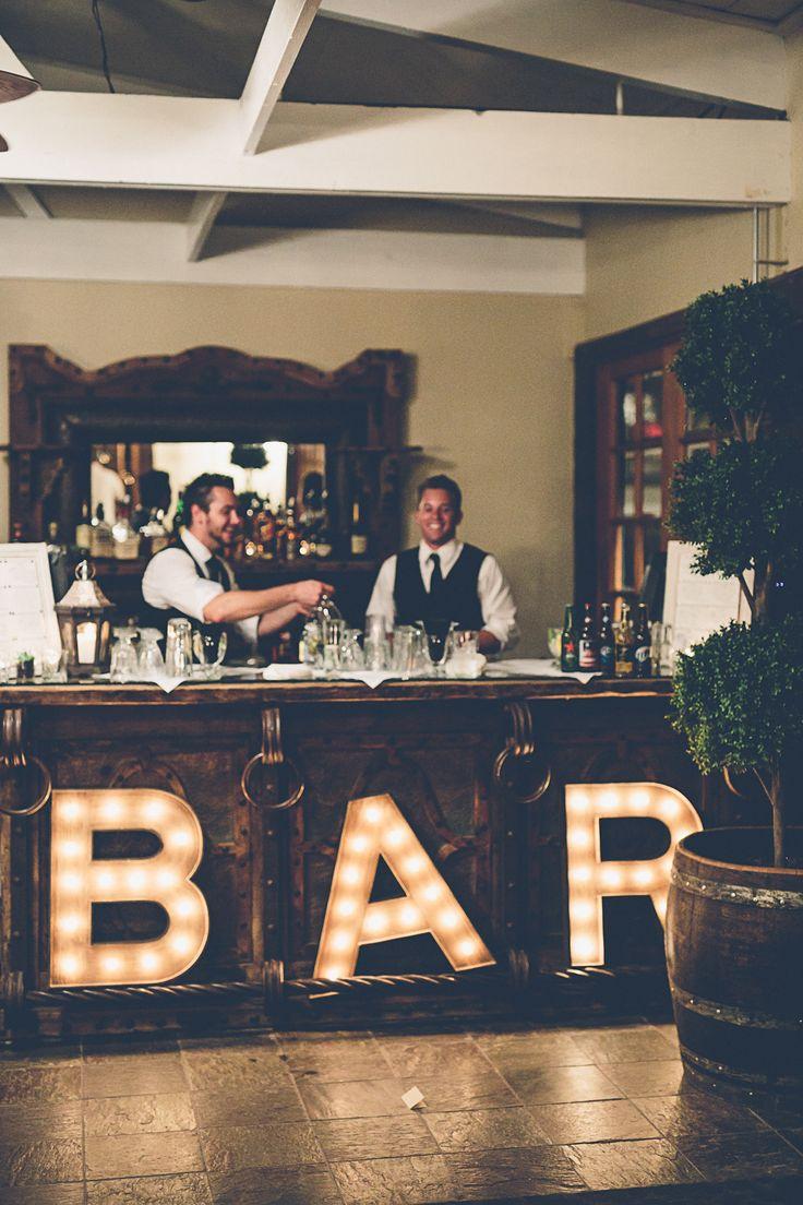 12 Unique Wedding Bar Setups That Say,