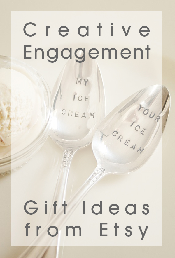 16 Creative Wedding Engagement Gift Ideas From Etsy Wedpics Blog