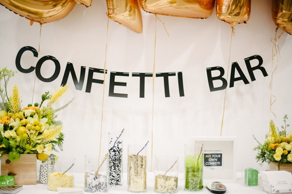 Awesome confetti ideas that will make your wedding photos amazing ...