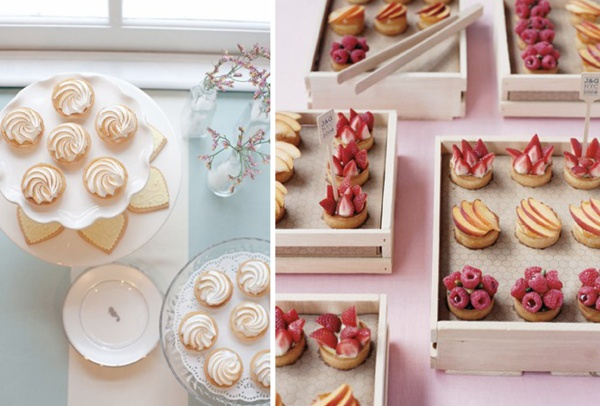sweets bar, sweet stuff, wedding desserts, desserts, dessert bar, wedding food, wedding food inspiration, inspiration, party food, party food inspiration, wedding cake alternative, mini desserts, mini desserts bar, mini pie, pie, fruit pie, fruits
