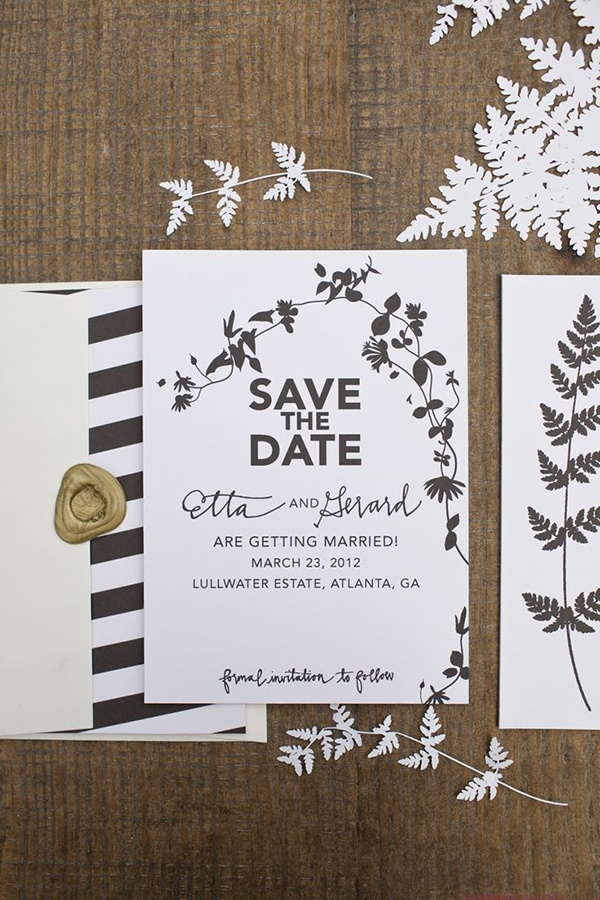12 unique wedding invitations for the design-obsessed bride and ...