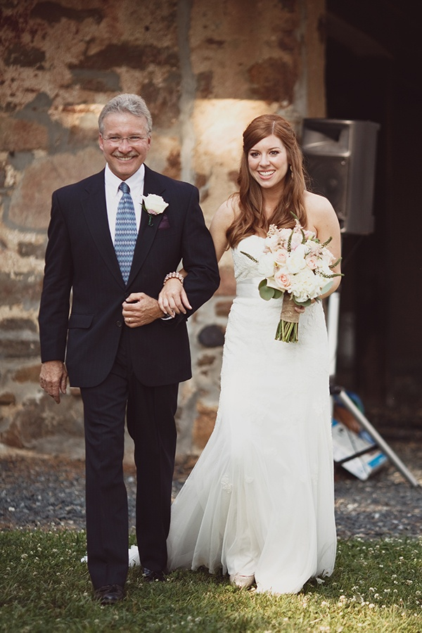 wedding, wedding photography, sarah culver, wedding inspiration, bride, father and bride, walk down aisle