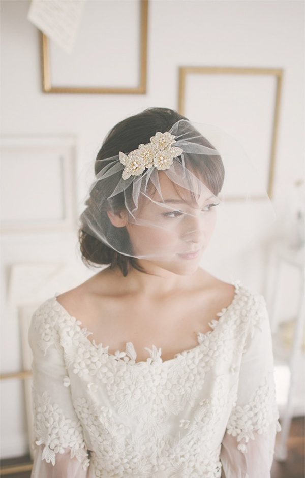bridal, bridal veil, wedding veil, bridal accessories, accessorize the bride, bride, wedding, sheer veil, flower headpiece, sheer bridal veil