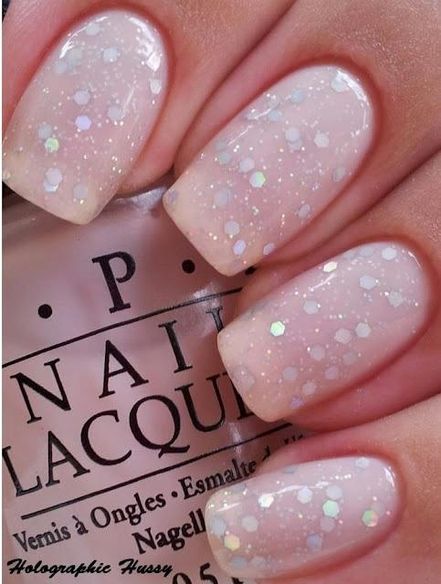 wedding nail, wedding manicure, bridal nails, bridal manicure mani, wedding nail art, wedding nail design, beauty, simple nails, glitter nails, sparkle nails, silver nails