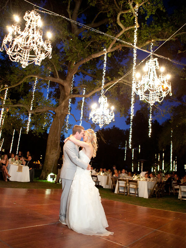 wedding lighting, reception lighting, chandelier, wedding chandelier, outdoor chandelier, wedding decor, chandelier decor, outdoor wedding, beautiful wedding inspiration