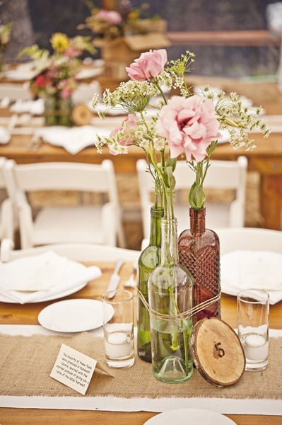 40 Wine Bottle Centerpieces To DIY For Your Wedding Wedpics Blog Interesting Decorated Bottles For Weddings