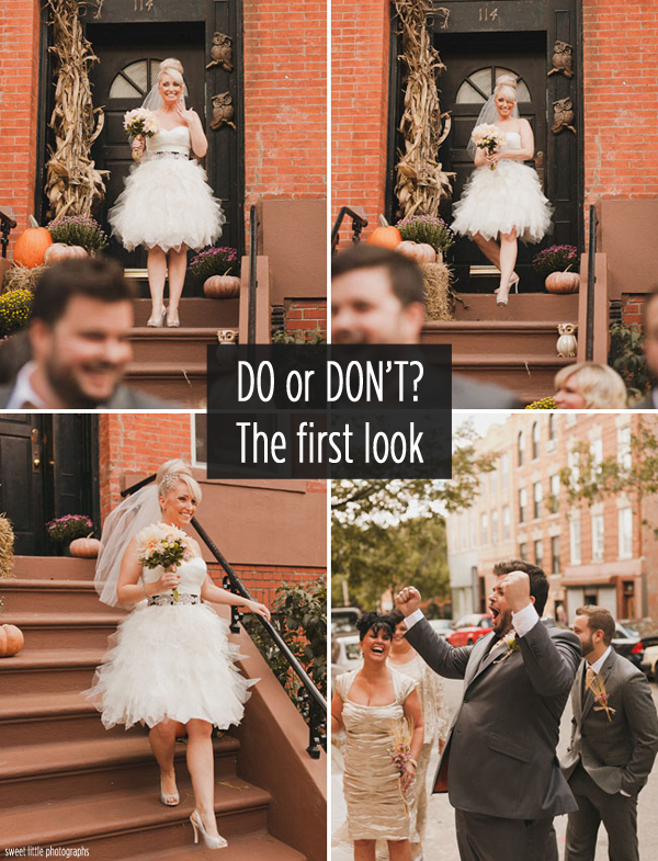 Wedding Advice Is Doing A First Look Photo Right For Your Wedding
