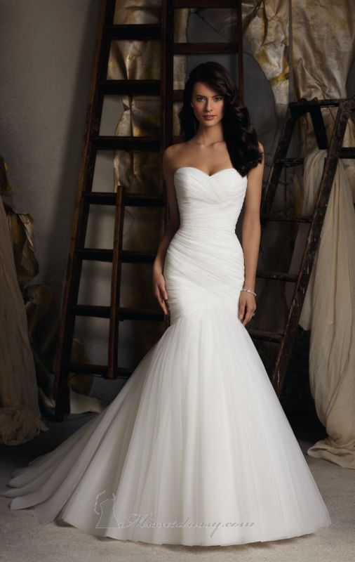Attractive Mermaid Wedding Dress, Wedding Dress, Mermaid Style, Wedding, Style, Bridal  Look