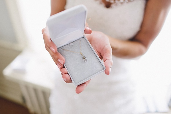 wedding, wedding photography, wedding inspiration, wedding ideas, bride, wedding dress, lace wedding dress, jewelry, necklace, bride gift