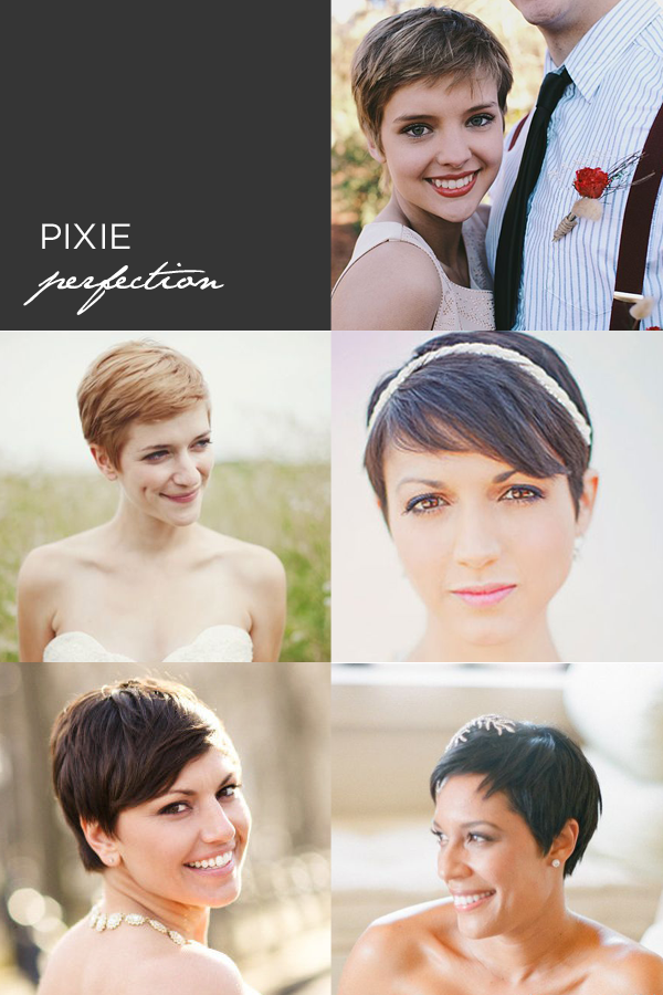 Wedding Hairstyles For Short Hair We Love These Unique Bridal Looks