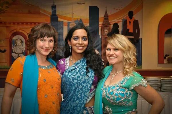 wedding indian bridesmaids