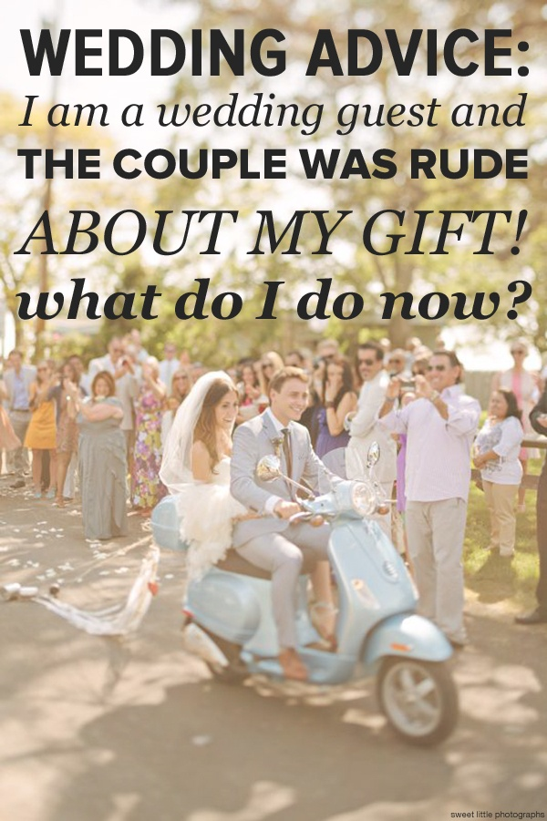 Wedding advice for guests