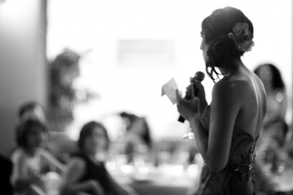 maid of honor toast photo