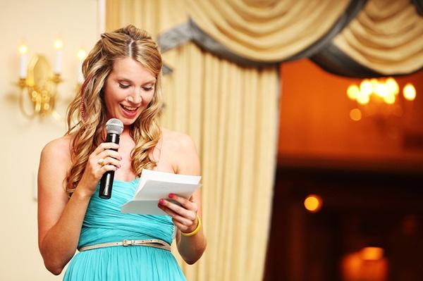 bridesmaid wedding toast