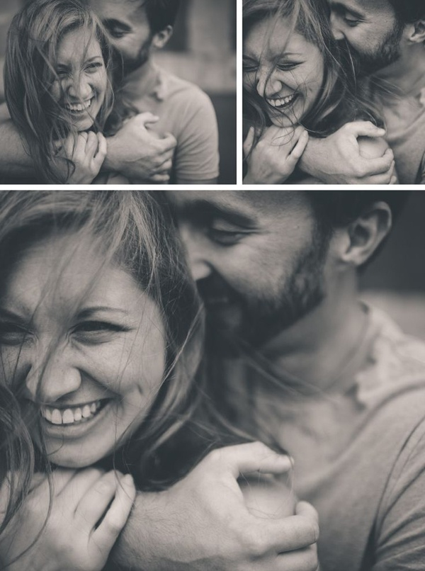 adorable engagement photo